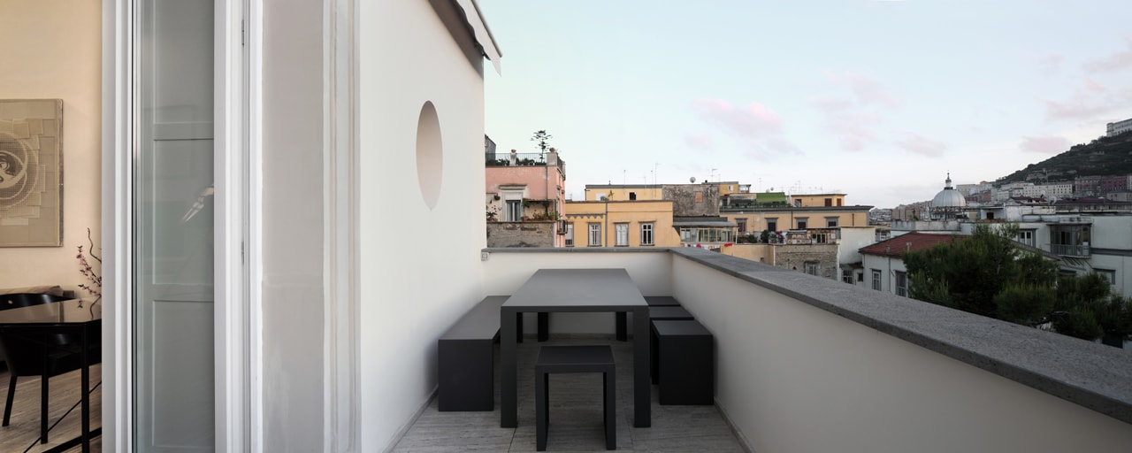 Napoli casa cc studio dumontet for Casa design napoli